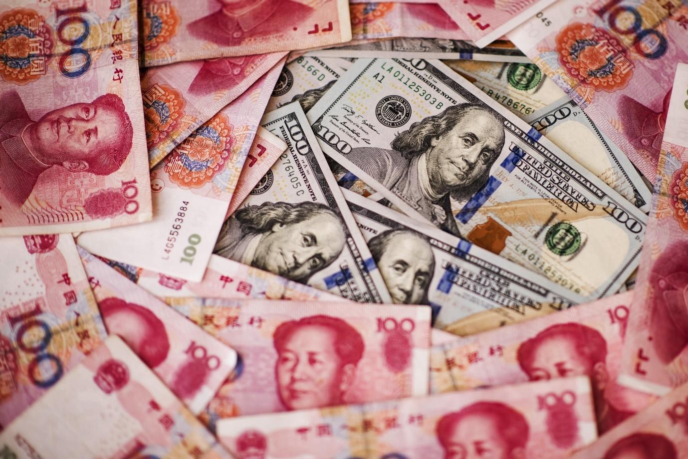 یوان و دلار